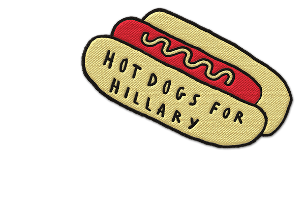 HOTDOGS FOR HILLARY PATCH