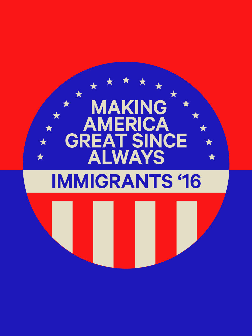 IMMIGRANTS '16 POSTER