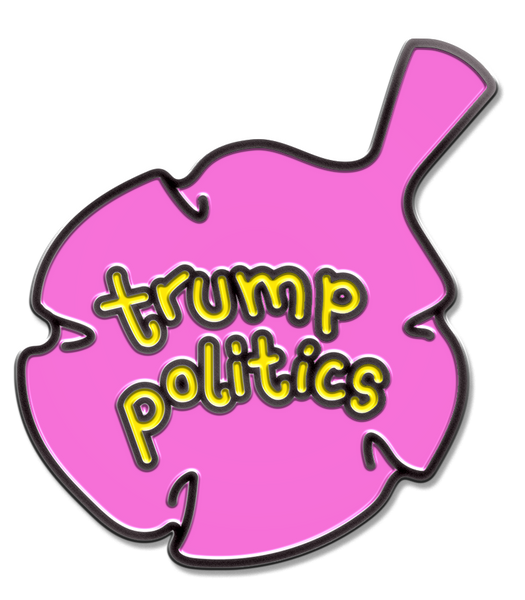 TRUMP POLITICS PIN