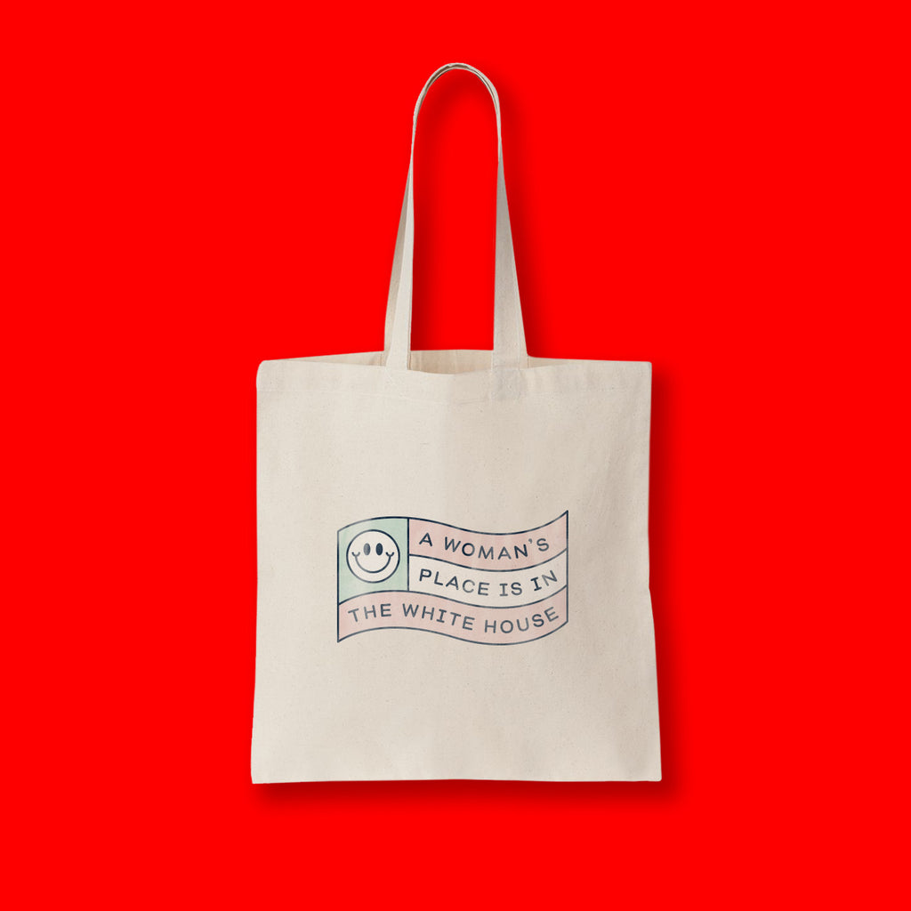 A WOMAN'S PLACE TOTE