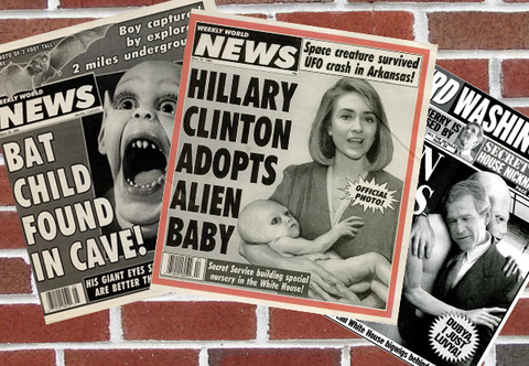 Vintage Weekly World News Issues