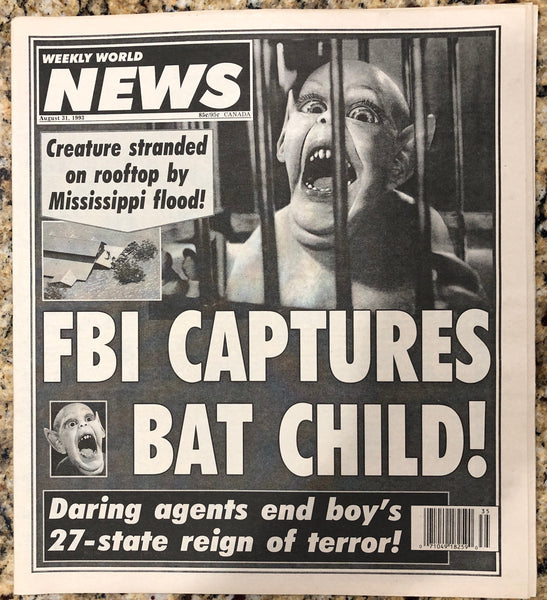 FBI CAPTURES BAT CHILD! - Limited Availability