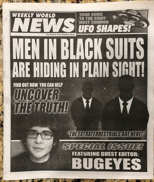 2012 Issue of Weekly World News! - 32 Pages