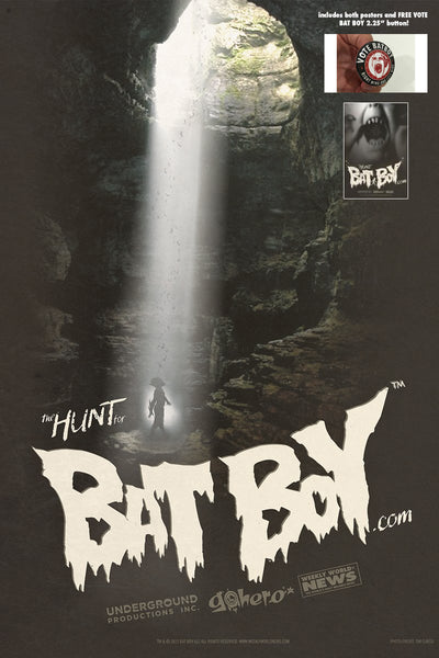 BAT BOY POSTERS - Get Both for 1 Price!