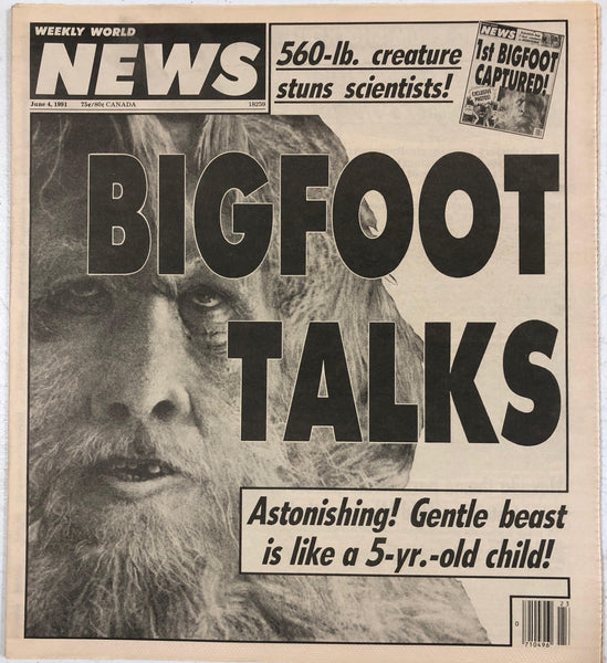 BIGFOOT TALKS!