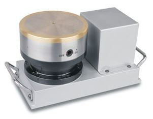 PRESICION ADJUSTMENT ROTARY MAGNETIC CHUCK