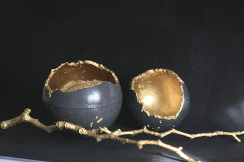 Concrete Decorative Sphere | Concrete Planter