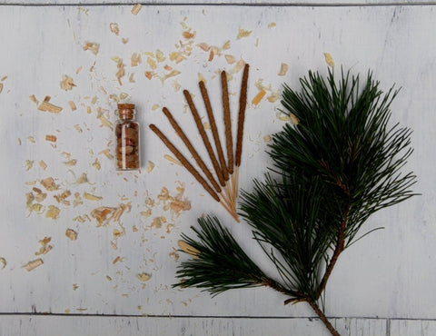 Hand Rolled Natural Organic Incense Sticks | Woodland Collection - Kaiko Studio