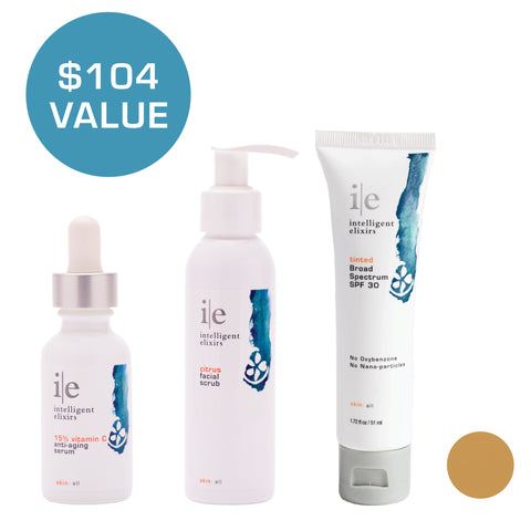 skin brightening kit - tan