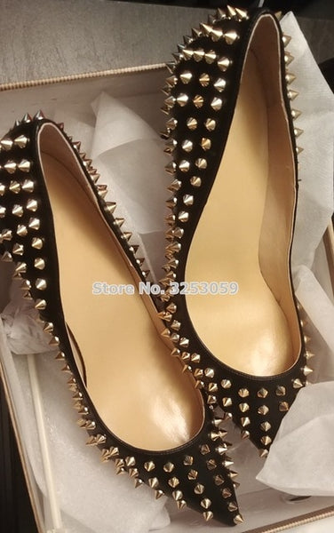 Point Your Toes Rivets Stiletto