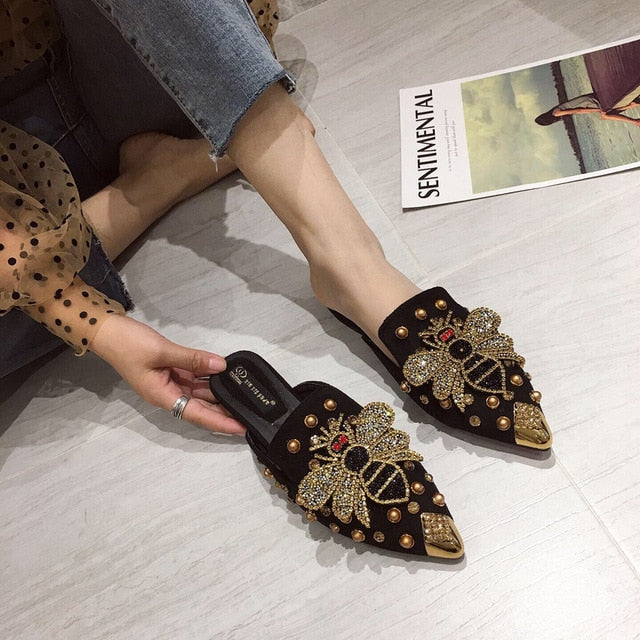 Queen Bee Crystal Slides
