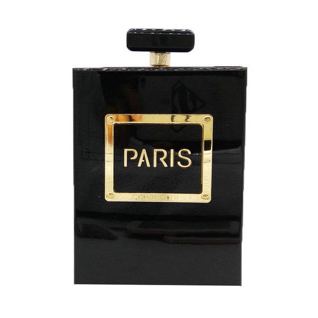 Perfume Bottle Clutch Handbag