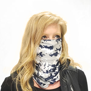DistanZ EcoTec Health Gaiter - Navy Camo MASK2020C
