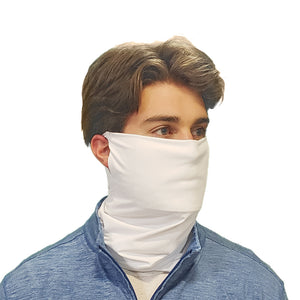 DistanZ EcoTec Health Gaiter - White MASK2020C