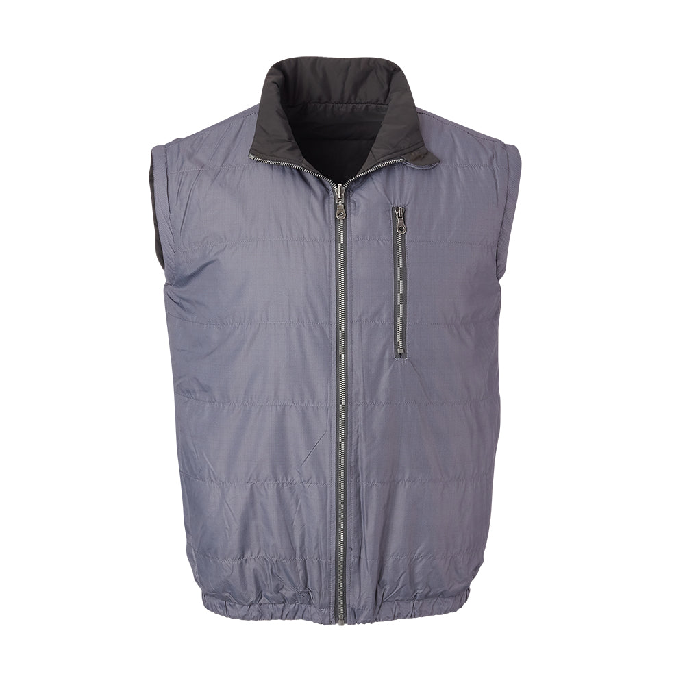 THE YELLOWSTONE QUILTED REVERSIBLE VEST - 74905V