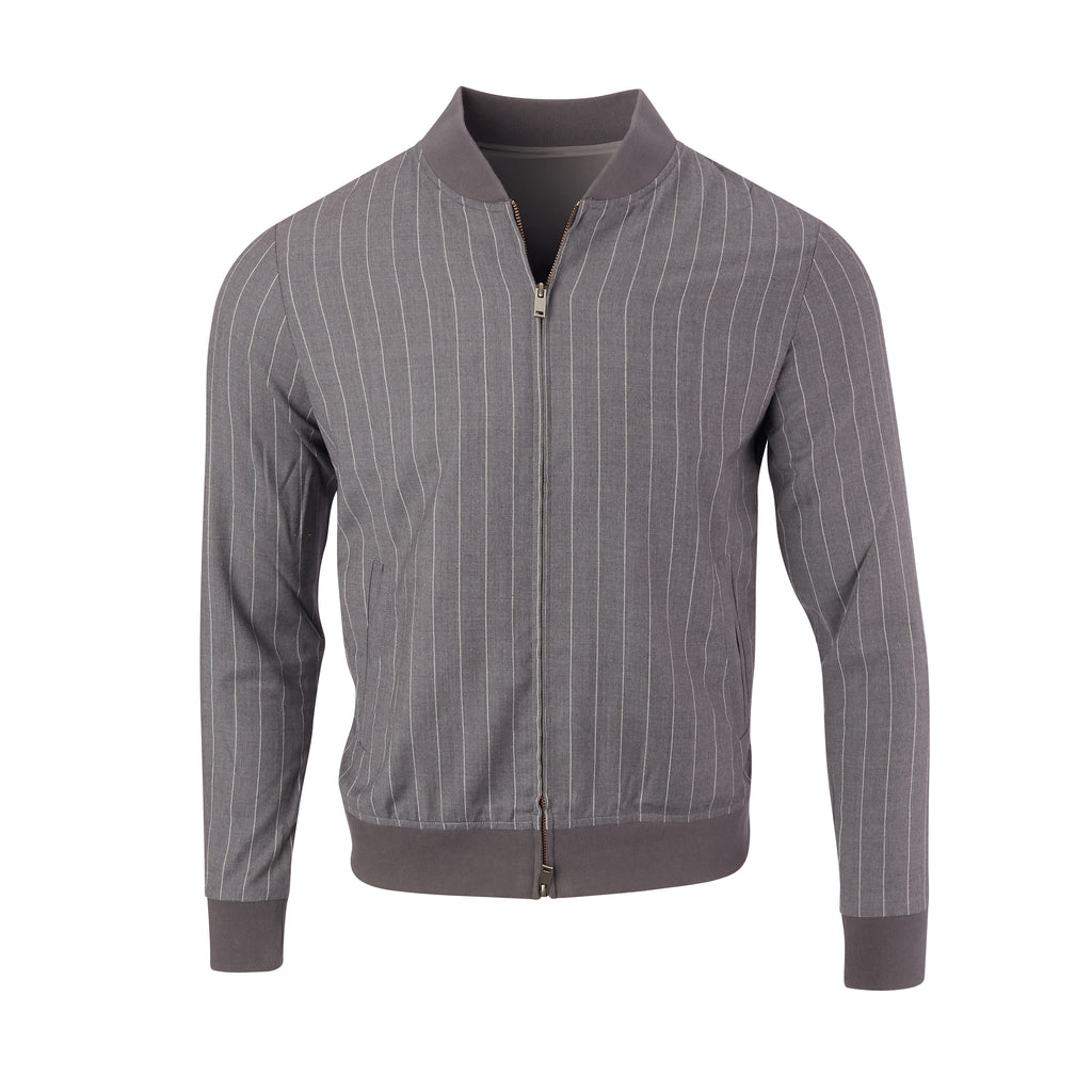 THE EASTWOOD CASHMERE BLEND JACKET - Cloud 85809FZ