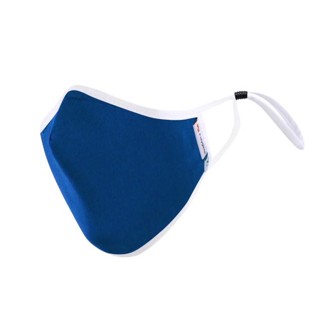 DistanZ Polygiene Health Mask with filter pocket-Nautical-3.0 Style MASK20POLYT