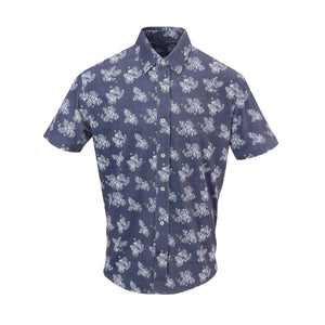 THE BOBBY LUXTEC BUTTON FRONT - Navy IS02440