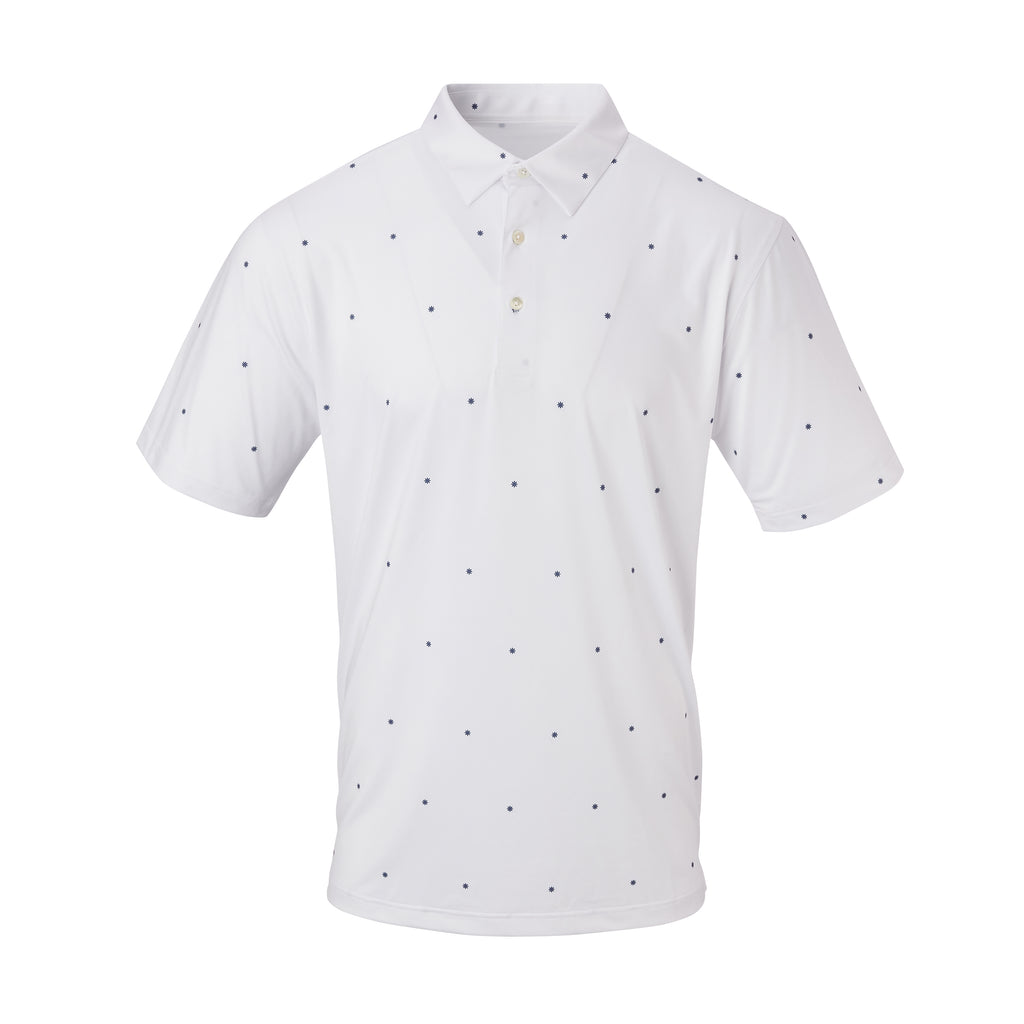 THE LA JOLLA POLO - White/Navy IS06807