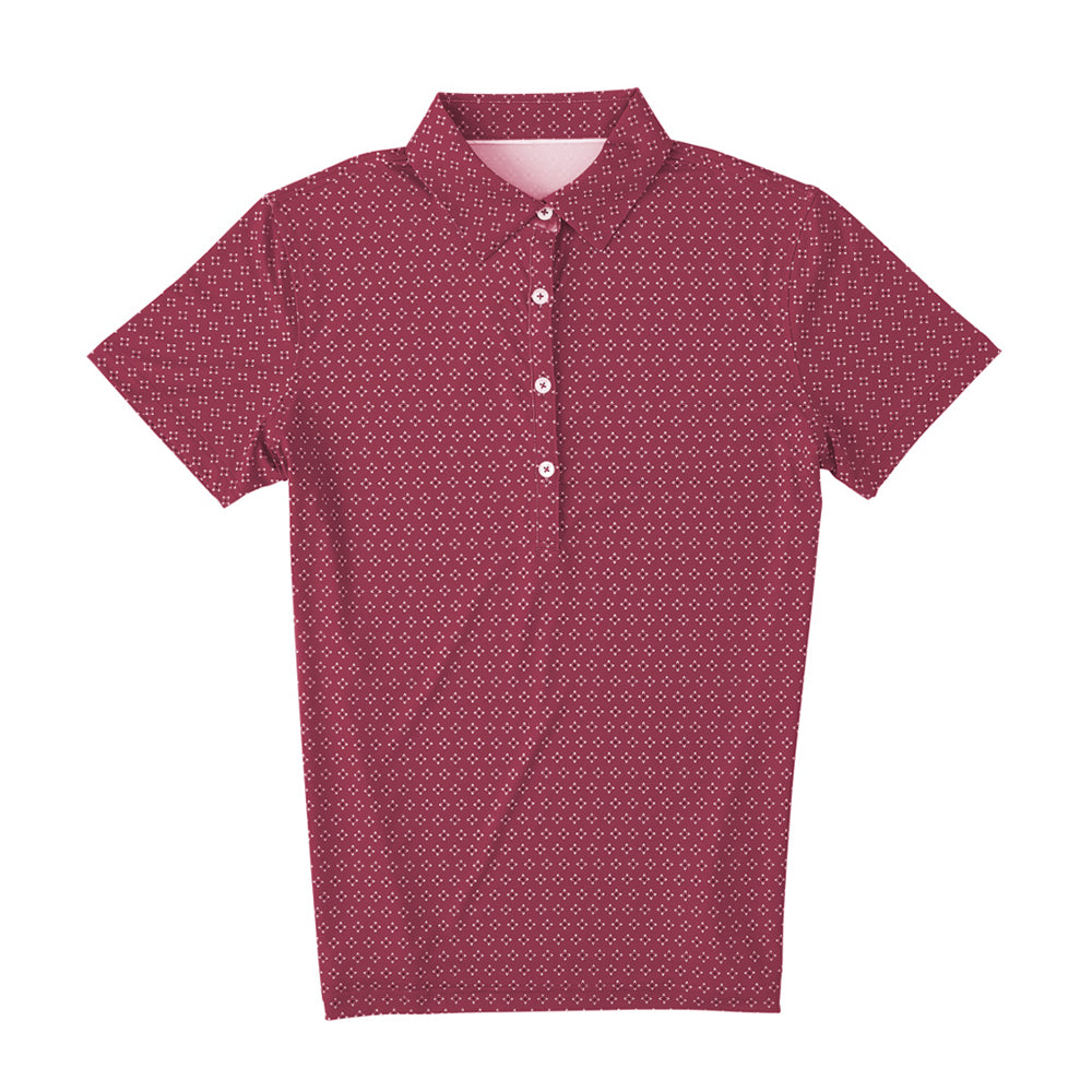 THE WOMEN'S FRISCO POLO - Merlot IS06808W