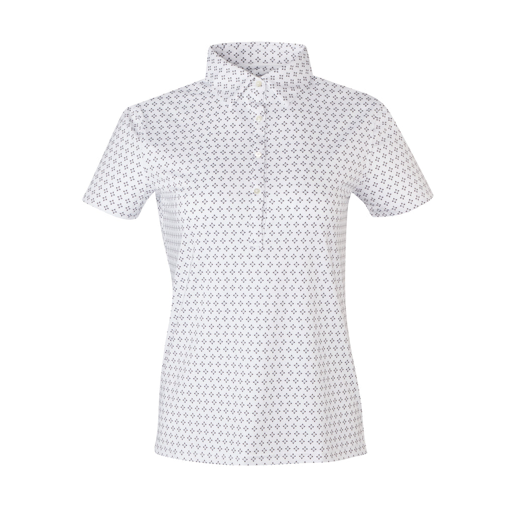 THE WOMEN'S FRISCO POLO - White IS06808W
