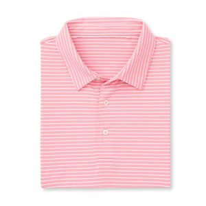 THE CARMEL STRIPE POLO - Peppermint/White IS06809