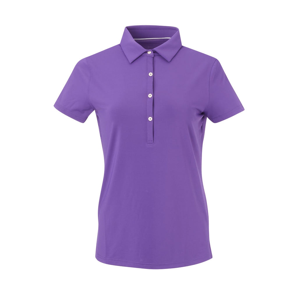 THE WOMEN'S CLASSIC  SHORT SLEEVE POLO - Berry IS26000W
