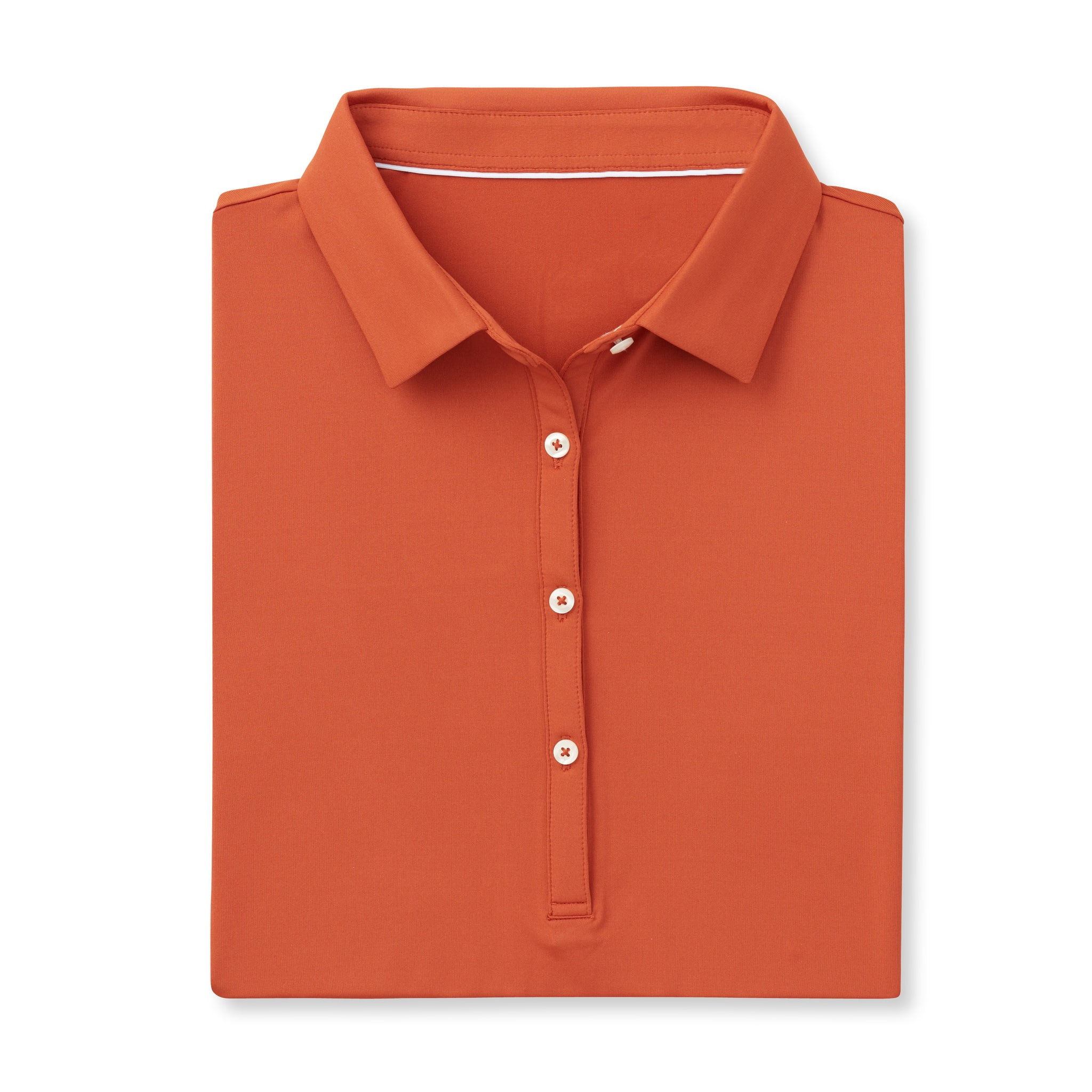 Womens ECOTEC Short Sleeve Polo - Burnt Orange IS26000W