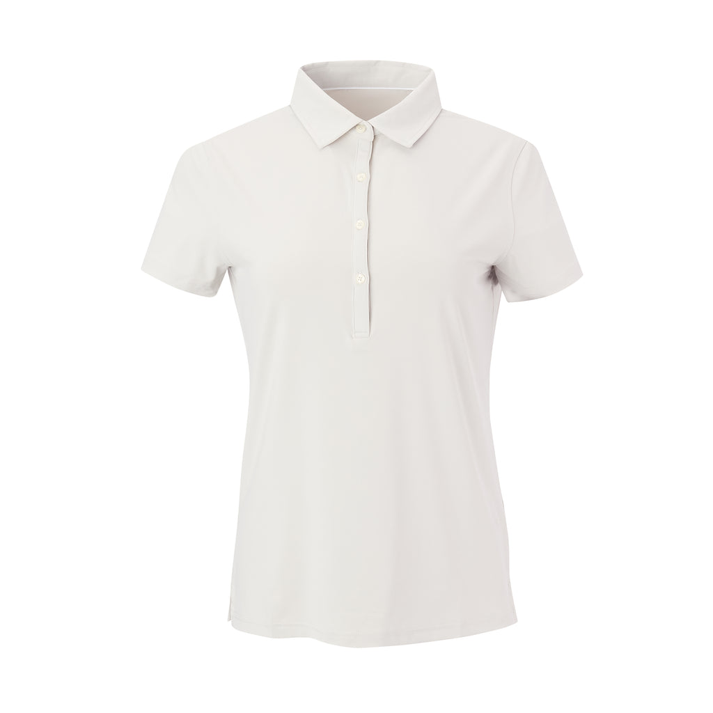 THE WOMEN'S CLASSIC  SHORT SLEEVE POLO - Cloud IS26000W
