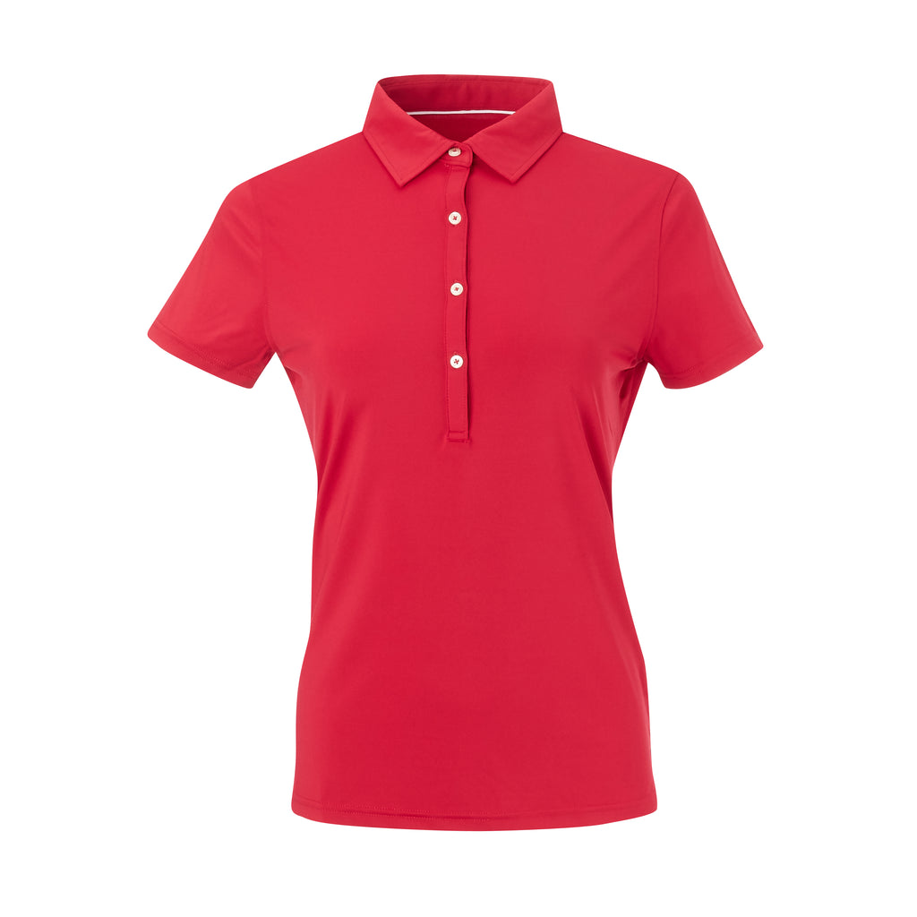 THE WOMEN'S CLASSIC  SHORT SLEEVE POLO - Crimson IS26000W