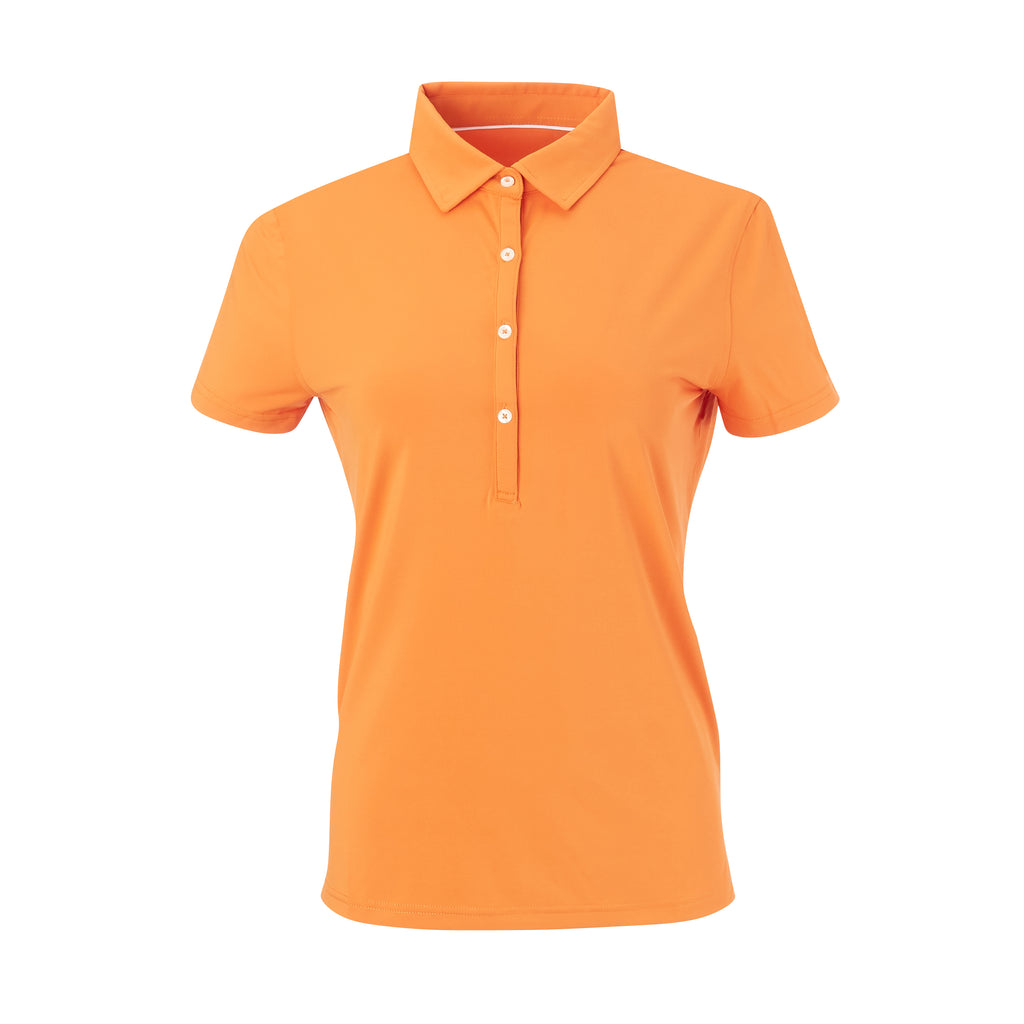 THE WOMEN'S CLASSIC  SHORT SLEEVE POLO - Fire IS26000W