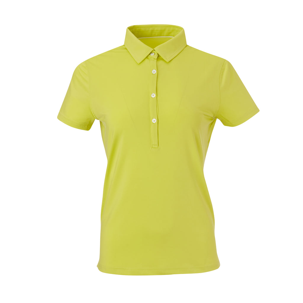THE WOMEN'S CLASSIC  SHORT SLEEVE POLO - Lime  IS26000W