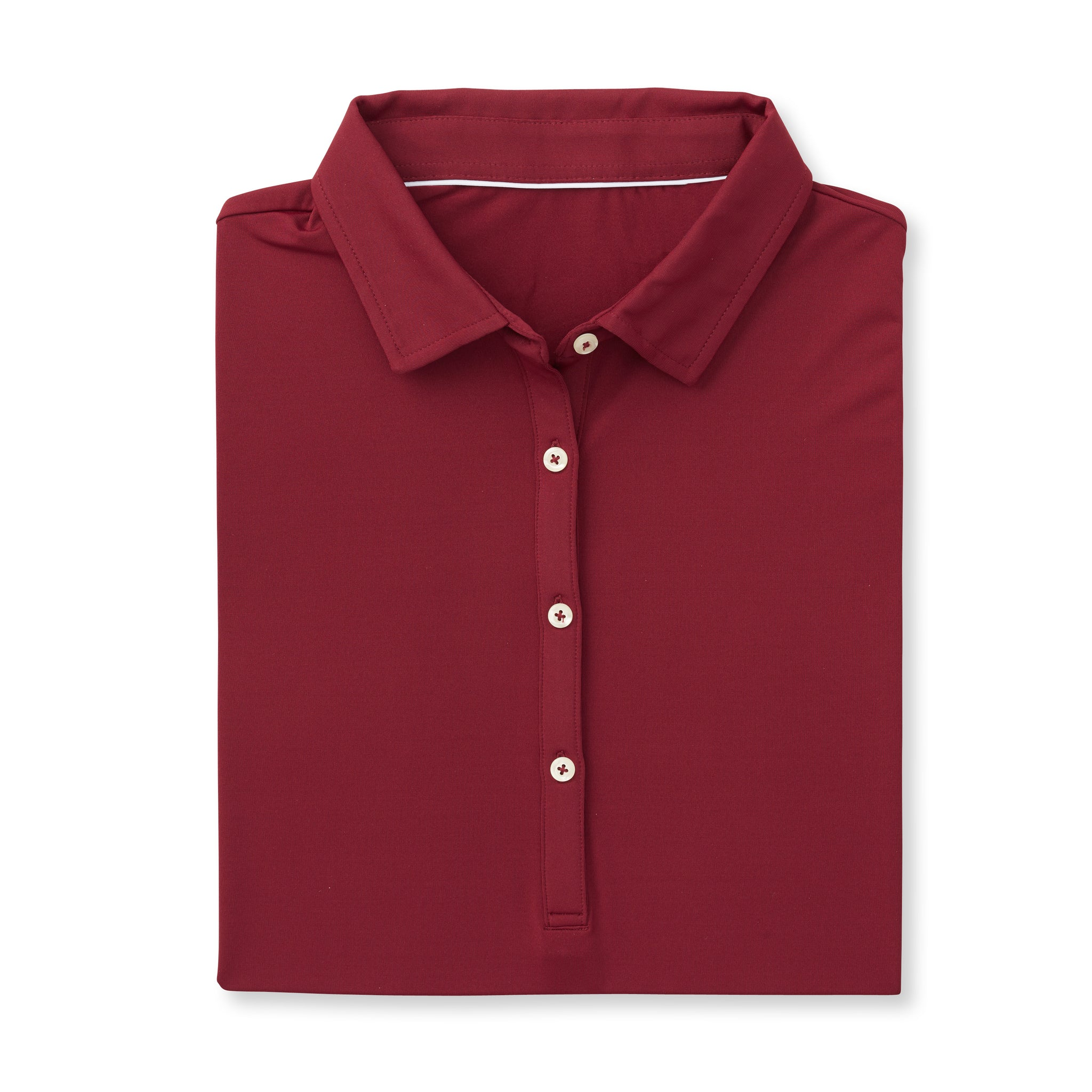 Womens ECOTEC Short Sleeve Polo - Merlot IS26000W