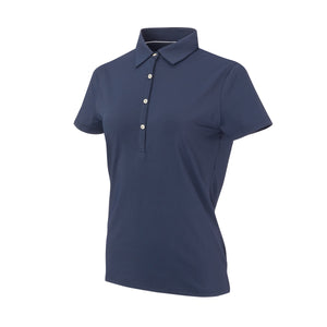 THE WOMEN'S CLASSIC  SHORT SLEEVE POLO - Navy IS26000W
