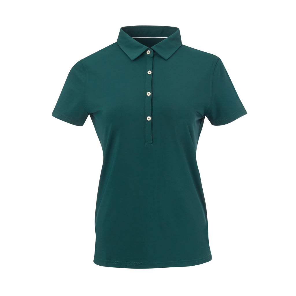 THE WOMEN'S CLASSIC  SHORT SLEEVE POLO - Pine IS26000W