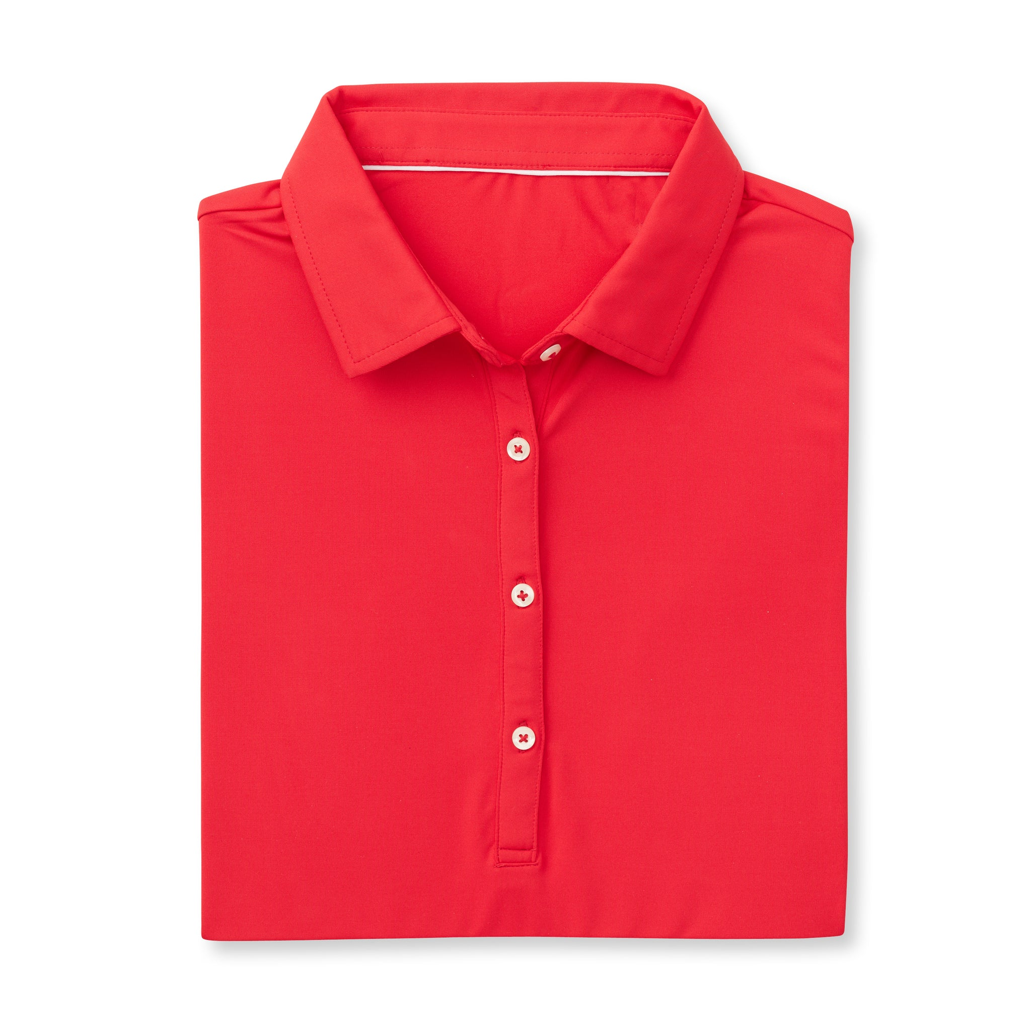 Womens ECOTEC Short Sleeve Polo - Patriot Red IS26000W