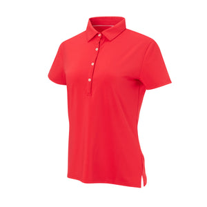 THE WOMEN'S CLASSIC  SHORT SLEEVE POLO - Patriot Red IS26000W