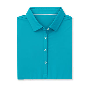 THE WOMEN'S CLASSIC  SHORT SLEEVE POLO - Teal IS26000W