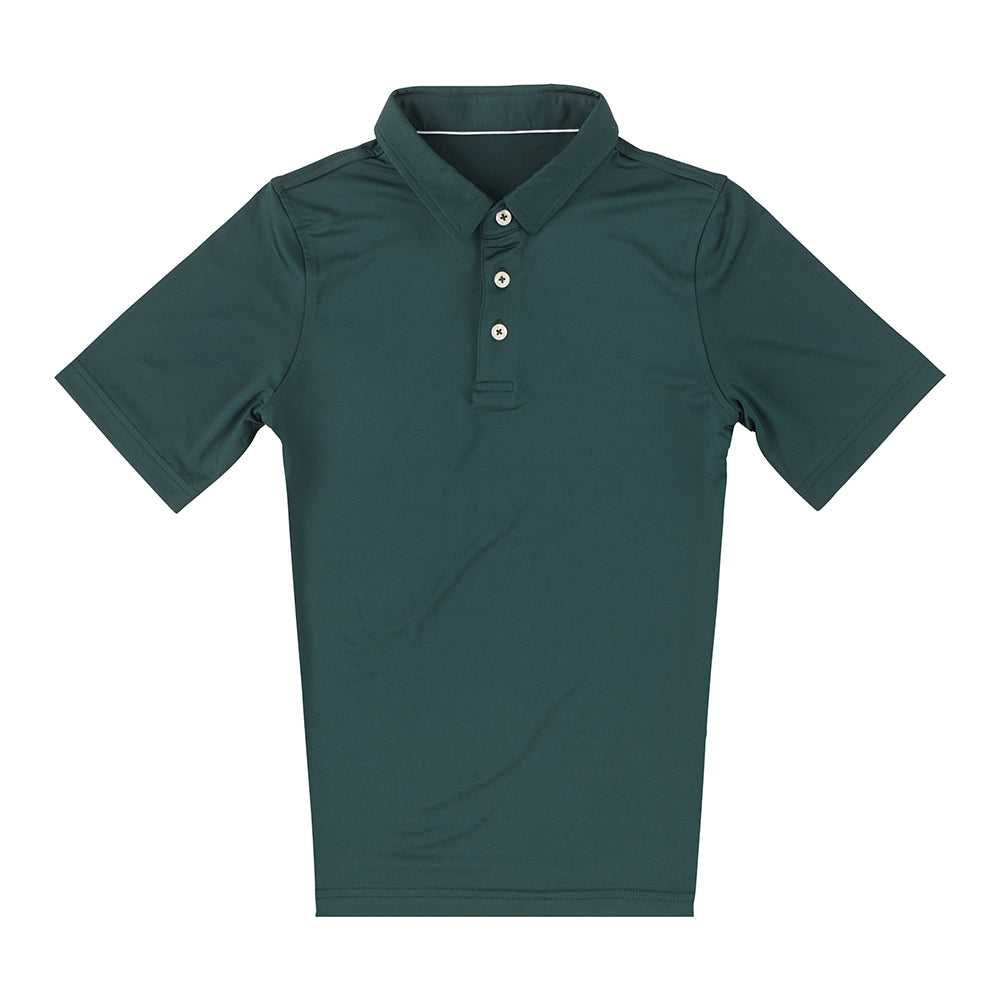 THE CLASSIC YOUTH SHORT SLEEVE POLO - Pine IS26000Y