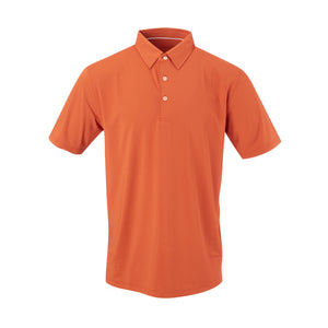 THE CLASSIC SHORT SLEEVE POLO - Burnt Orange IS26000