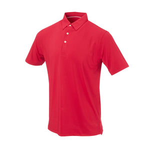 THE CLASSIC SHORT SLEEVE POLO - Crimson IS26000
