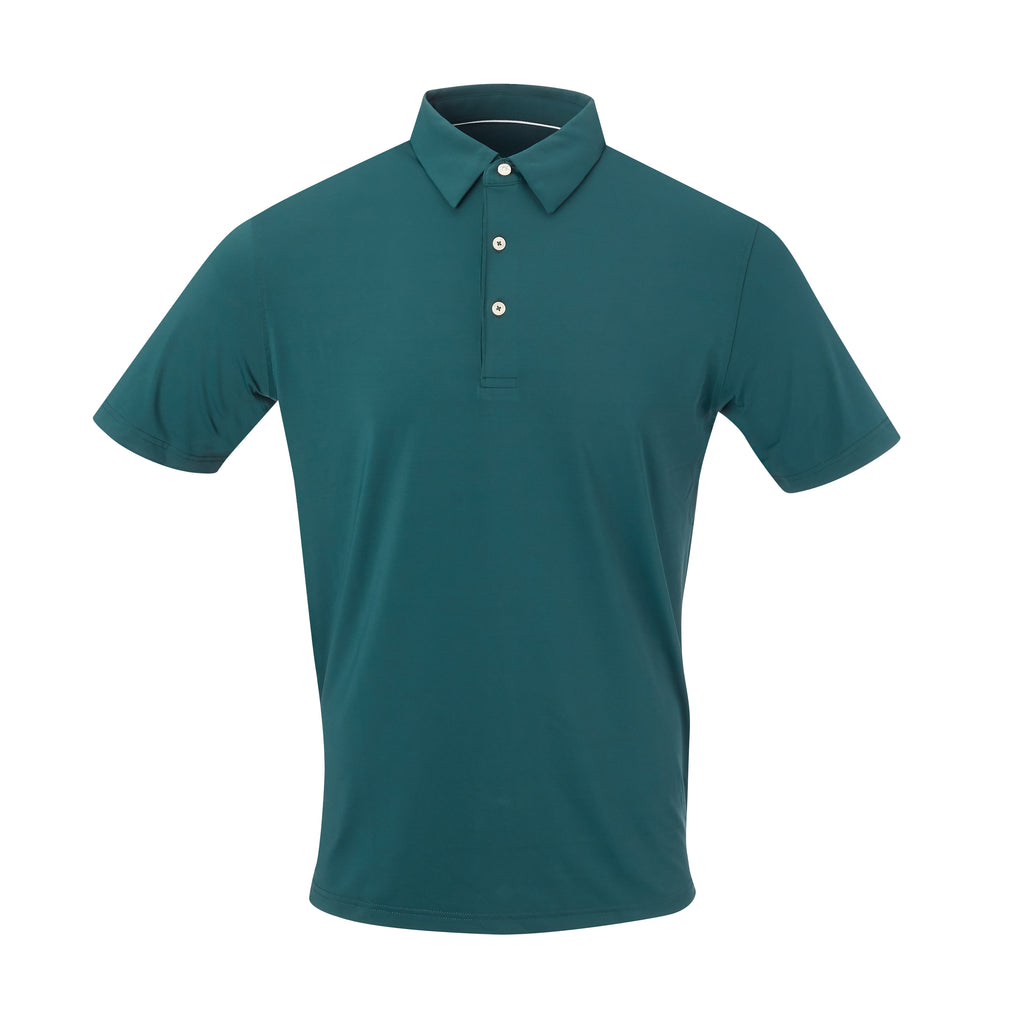 THE CLASSIC SHORT SLEEVE POLO - Pine IS26000