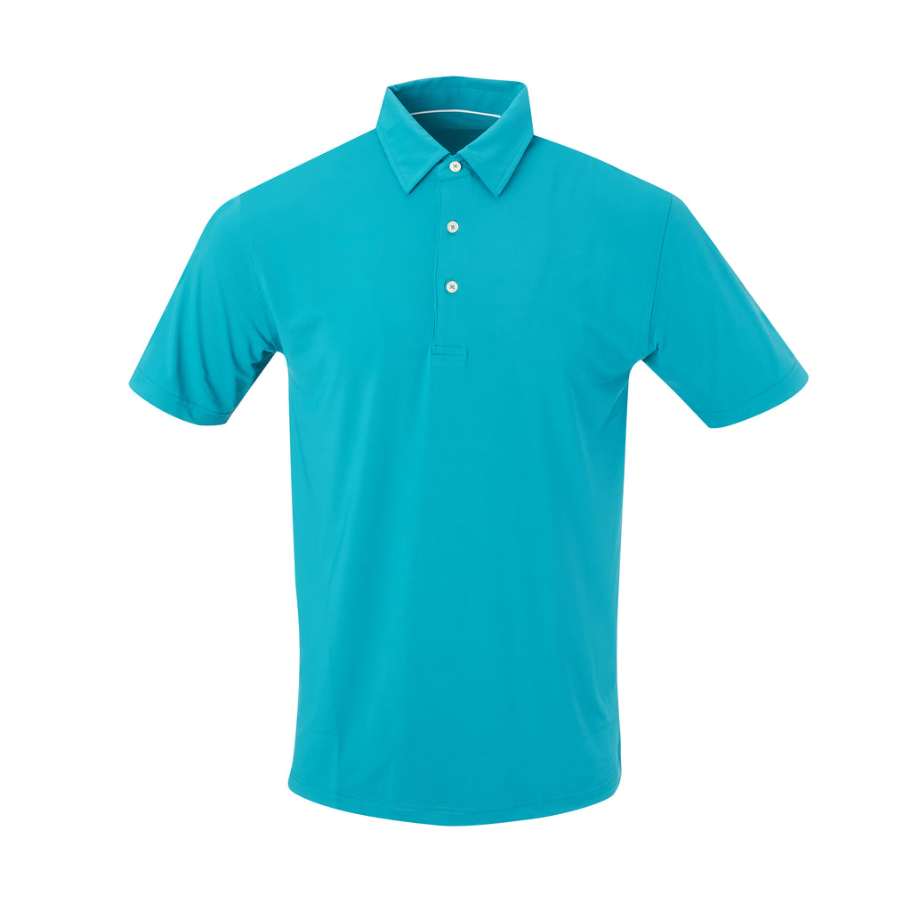 THE CLASSIC SHORT SLEEVE POLO - Teal IS26000