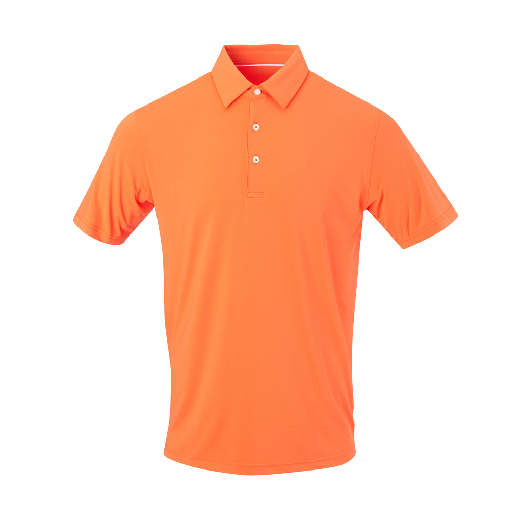 THE CLASSIC SHORT SLEEVE POLO - Vibrant Orange IS26000