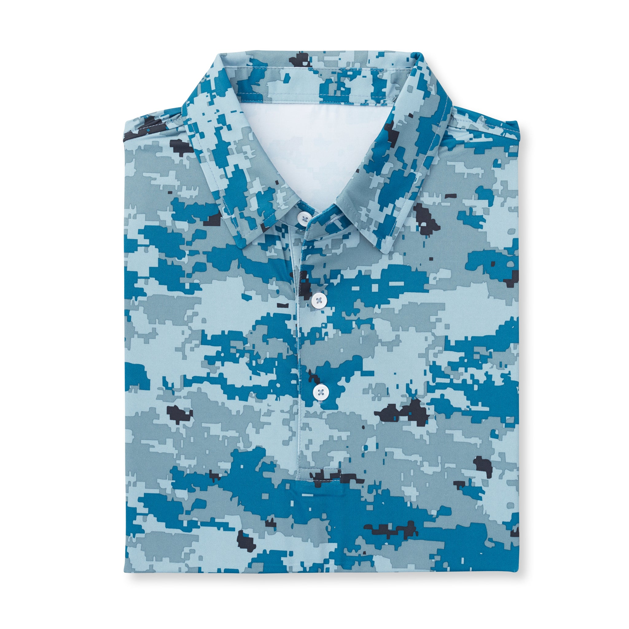 Digital Camo Short Sleeve - Sea & Air IS46002