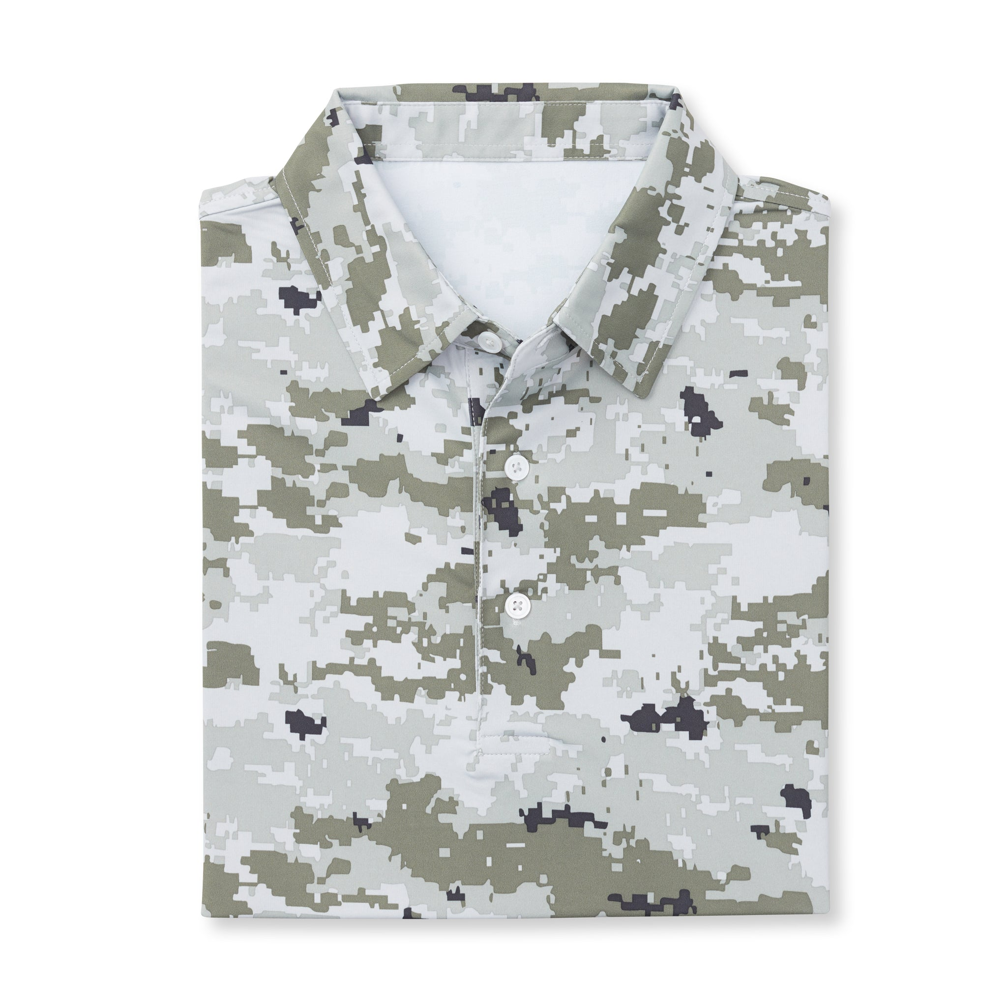 Digital Camo Short Sleeve - Desert IS46002