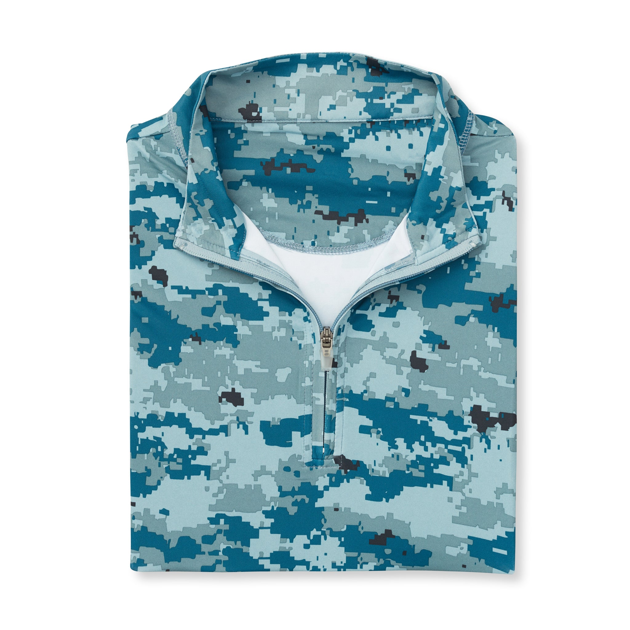 Digital Camo Half Zip - Sea & Air IS46005