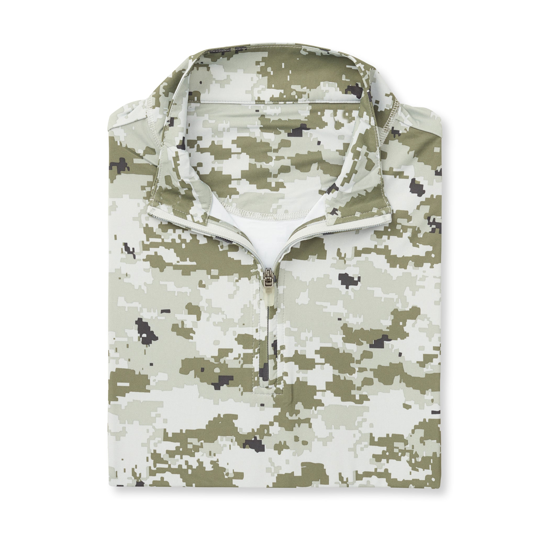 THE PULIDO DIGITAL CAMO HALF ZIP PULLOVER - Desert IS46005