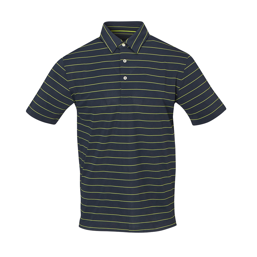 THE MIAMI PIQUE STRIPE POLO - IS56804