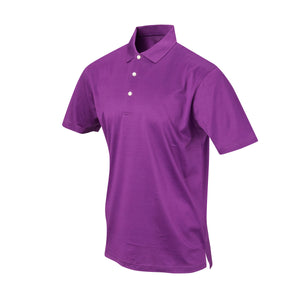 THE PRES MERCERIZED POLO - Berry IS62200